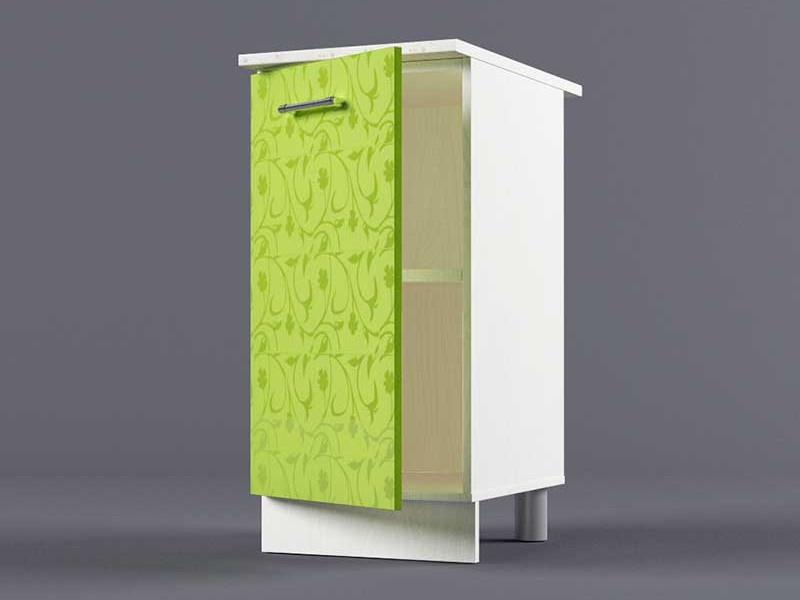 Шкаф напольный Н400 1дв 850х400х600 Лимон