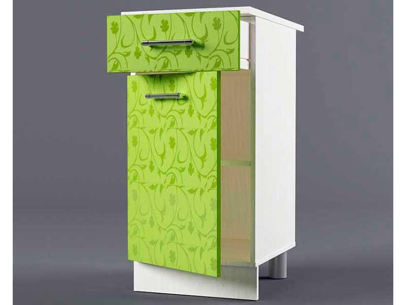 Шкаф напольный Н400 1ящ 1дв 850х400х600 Лимон