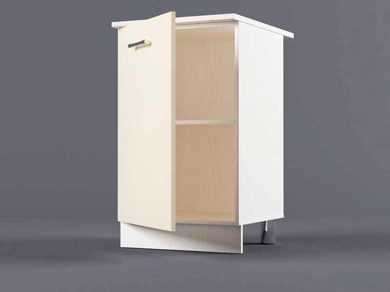 Шкаф напольный Н500 1дв 850х500х600 Бежевый