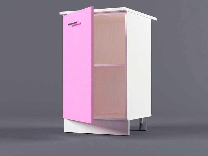 Шкаф напольный Н500 1дв 850х500х600 Фиолетовый