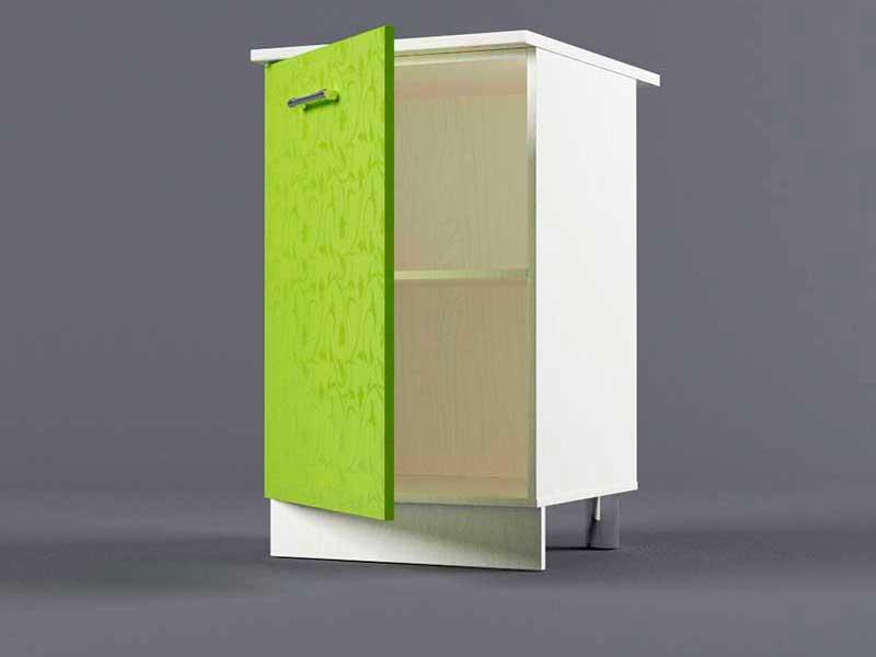 Шкаф напольный Н500 1дв 850х500х600 Лимон