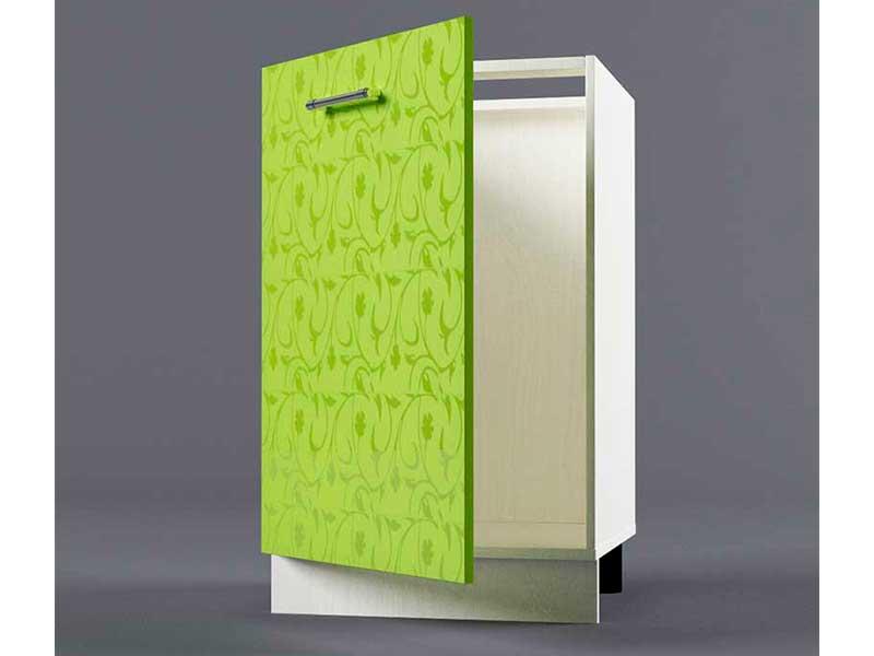 Шкаф напольный Н500 1дв под мойку 850х500х600 Лимон