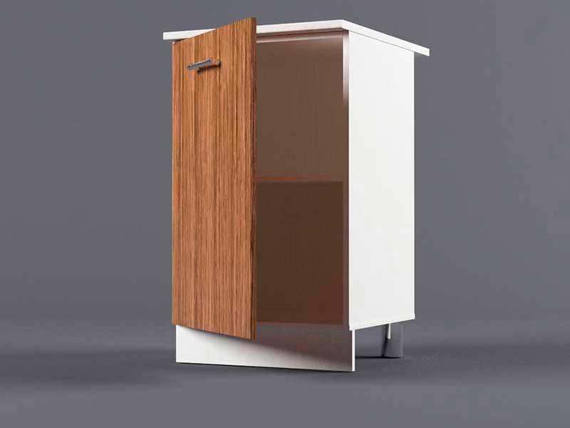 Шкаф напольный Н500 1дв 850х500х600 Бодега темная