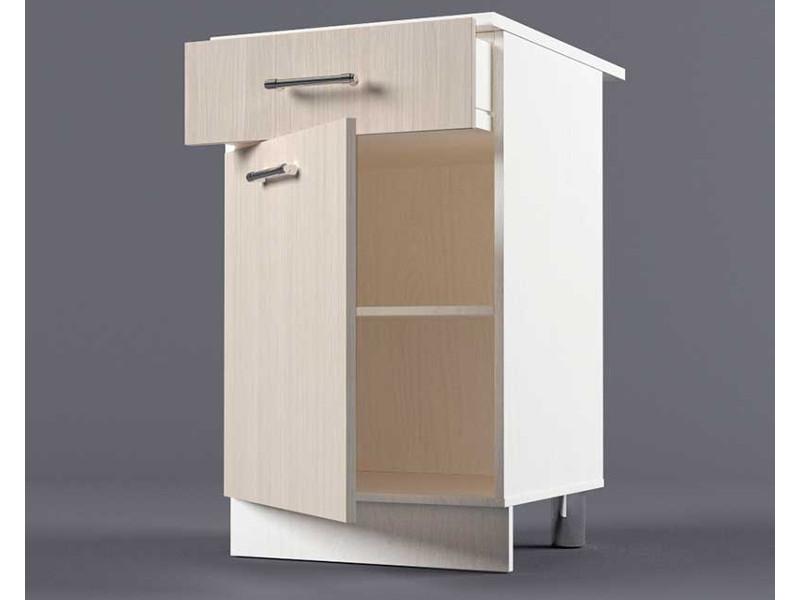 Шкаф напольный Н500 1ящ 1дв 850х500х600 Шимо светлый