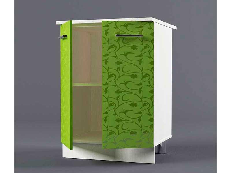 Шкаф напольный Н600 2дв 850х600х600 Лимон