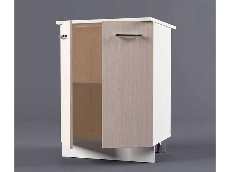 Шкаф напольный Н600 2дв 850х600х600 Шимо светлый