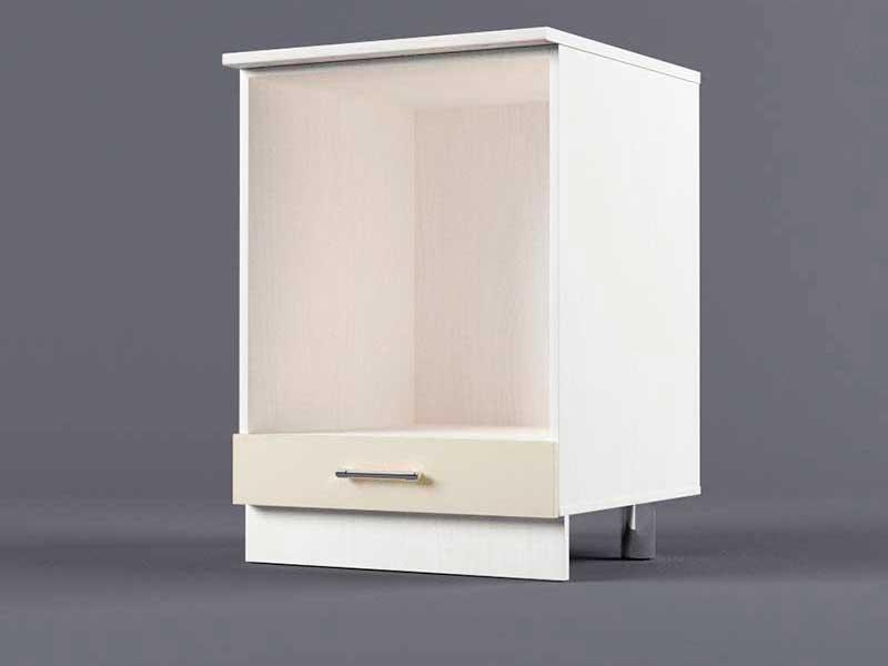 Шкаф напольный Н600 под плиту 850х600х600 Бежевый