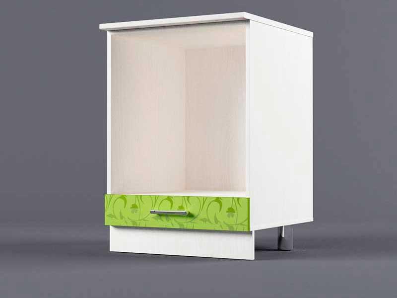 Шкаф напольный Н600 под плиту 850х600х600 Лимон