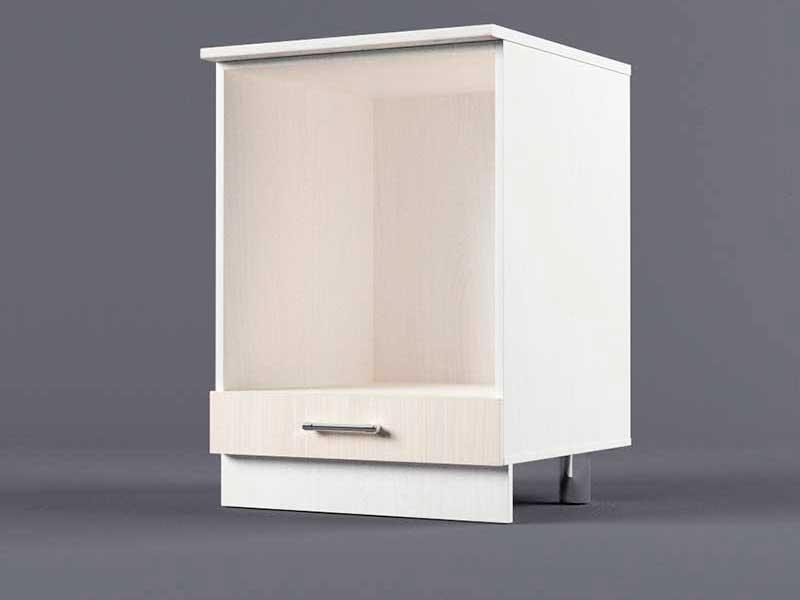 Шкаф напольный Н600 под плиту 850х600х600 Шимо светлый