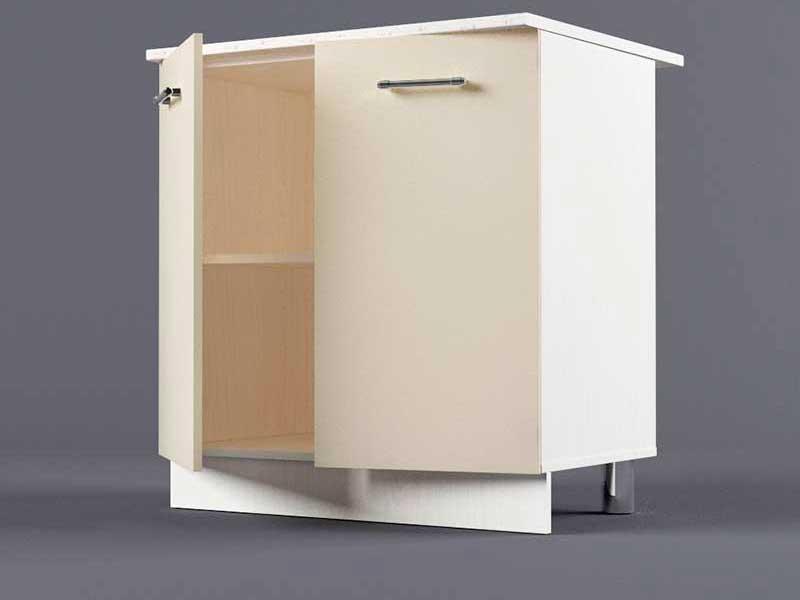 Шкаф напольный Н800 2дв 850х800х600 Бежевый