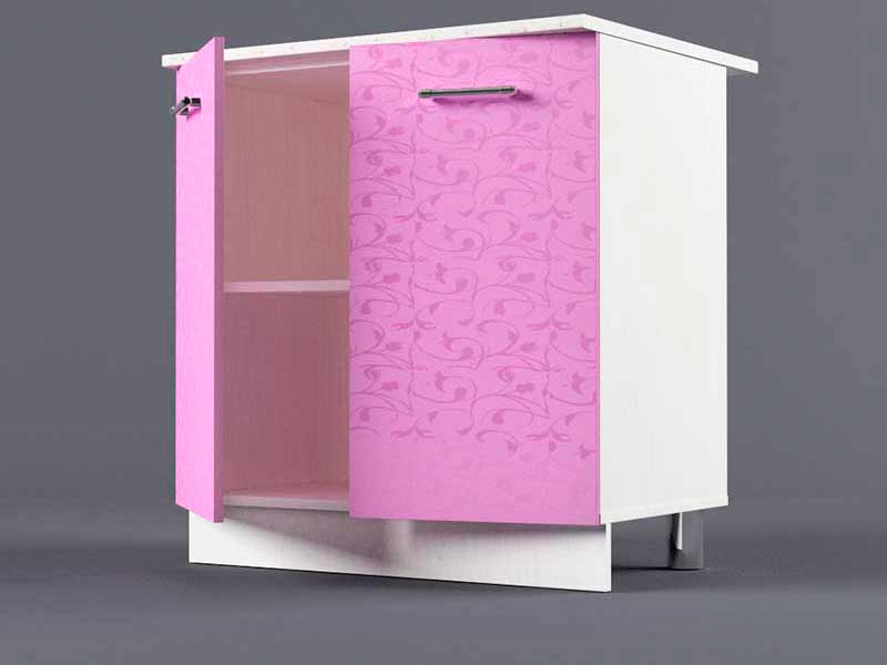 Шкаф напольный Н800 2дв 850х800х600 Фиолетовый