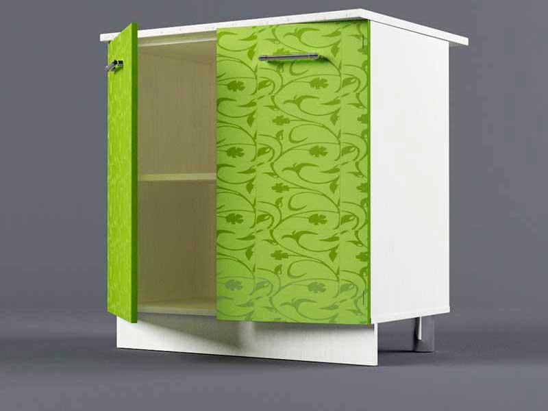 Шкаф напольный Н800 2дв 850х800х600 Лимон
