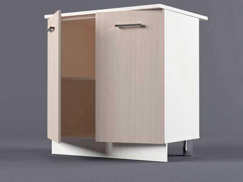 Шкаф напольный Н800 2дв 850х800х600 Шимо светлый