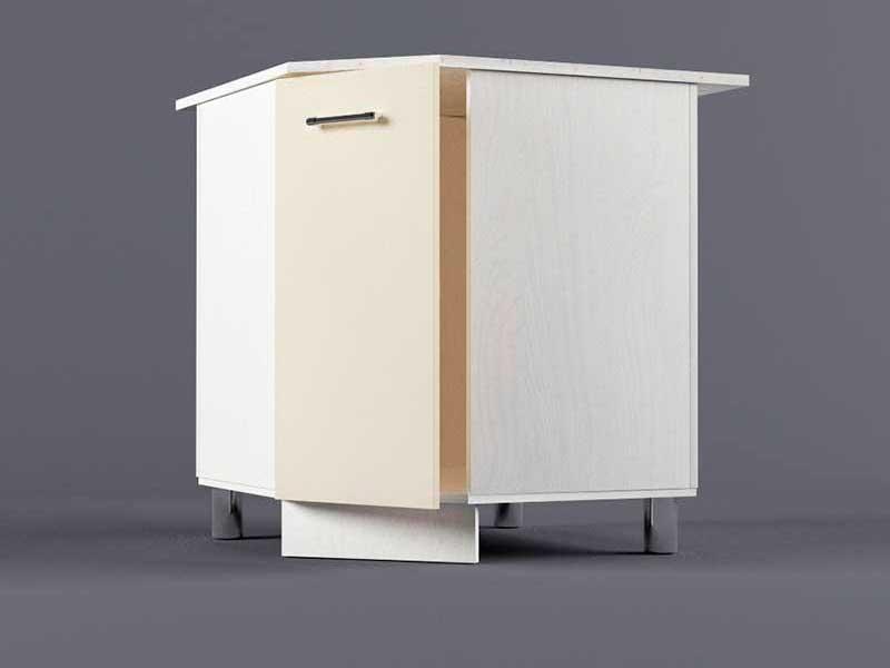Шкаф напольный НУ800х800 1дв 850х800-800х600 Бежевый