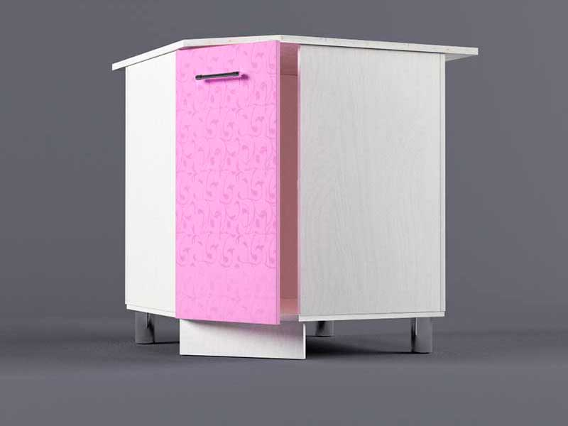Шкаф напольный НУ800х800 1дв 850х800-800х600 Фиолетовый