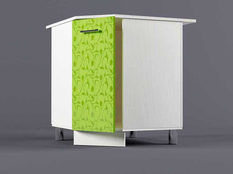 Шкаф напольный НУ800х800 1дв 850х800-800х600 Лимон
