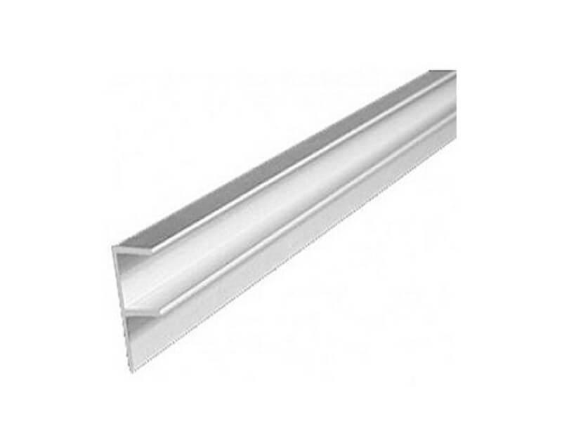 Планка угловая W для стеновой панели 600 мм