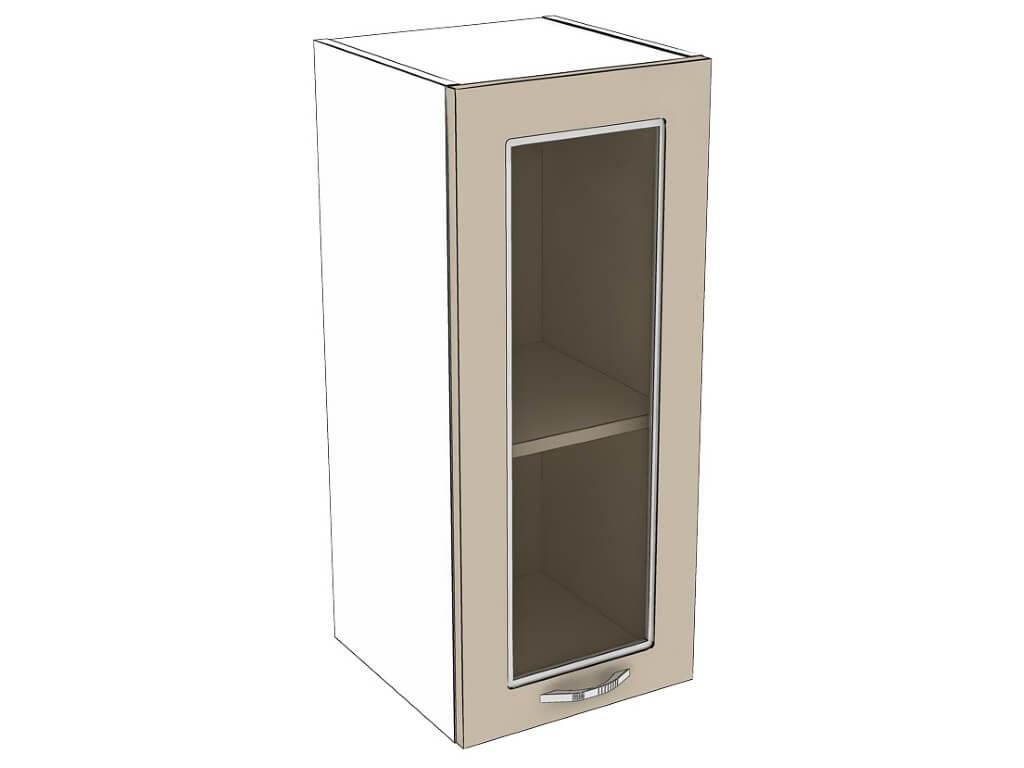 Шкаф навесной со стеклом 300 1Д