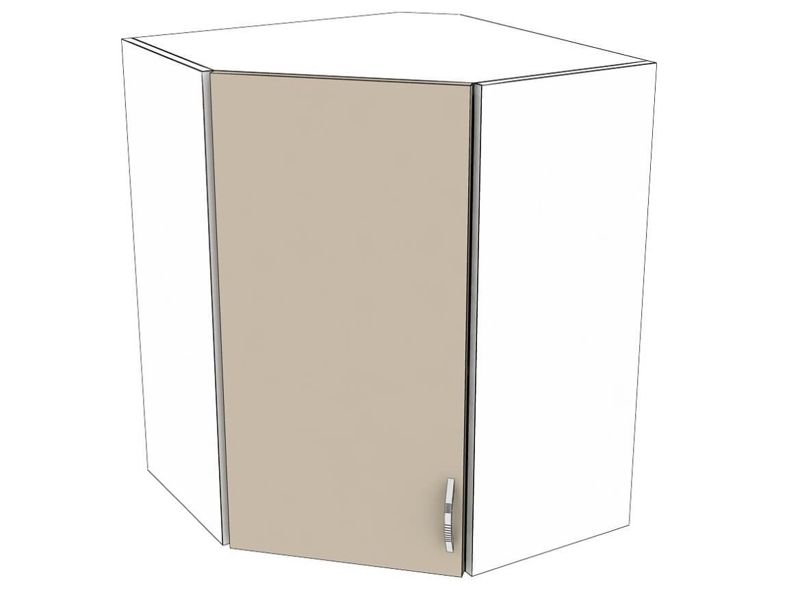 Шкаф навесной угловой 600-600