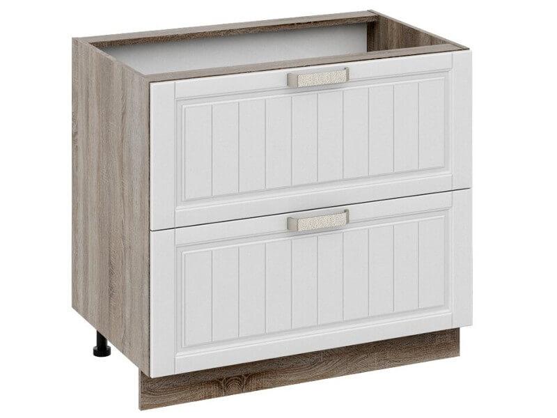 Шкаф нижний с 2-мя ящиками Н2я-72-90-2Я 822х900х582мм