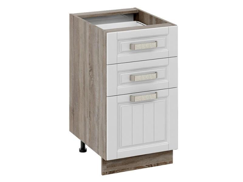 Шкаф нижний с 3-мя ящиками Н3я-72-45-3Я 822х450х582мм