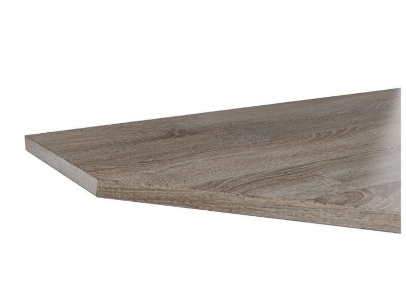 Крышка стола торцевая левая Сп40Т-60-150L 40х600х1500мм