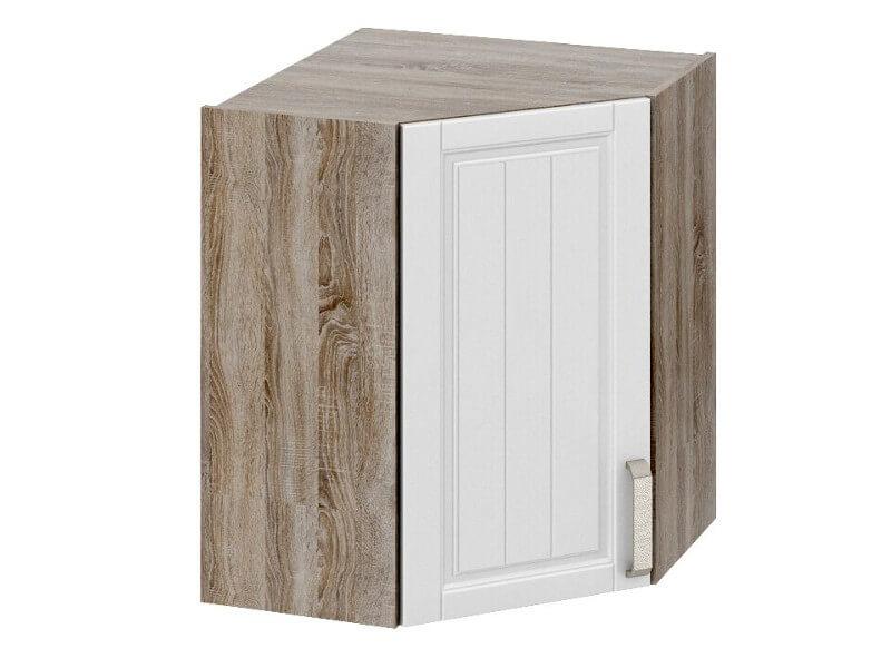 Шкаф верхний угловой с углом 45 ВУ45-72-40-1ДР 720х600х600мм