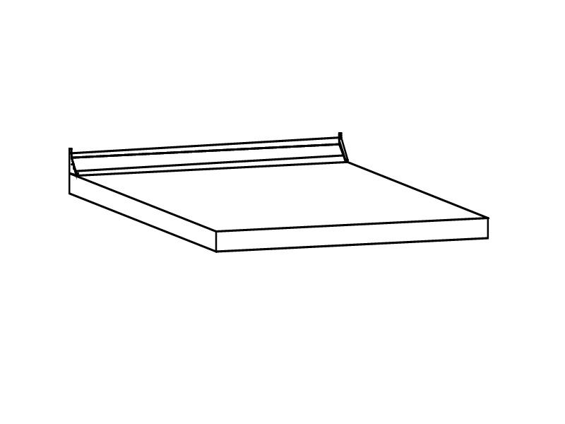 Столешница ПФК 14.80 Слоновая кость 800х600х38