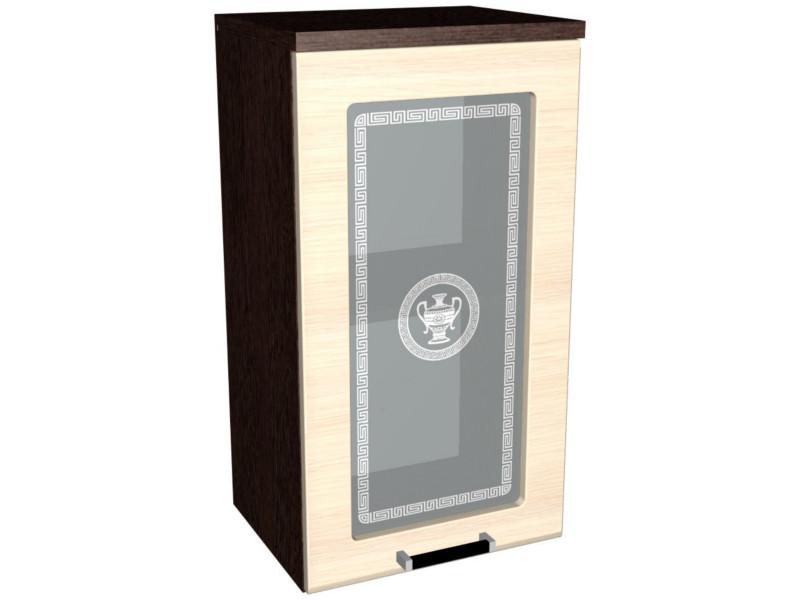 Шкаф ШСТ-40 навесной со стеклом 400х320х742