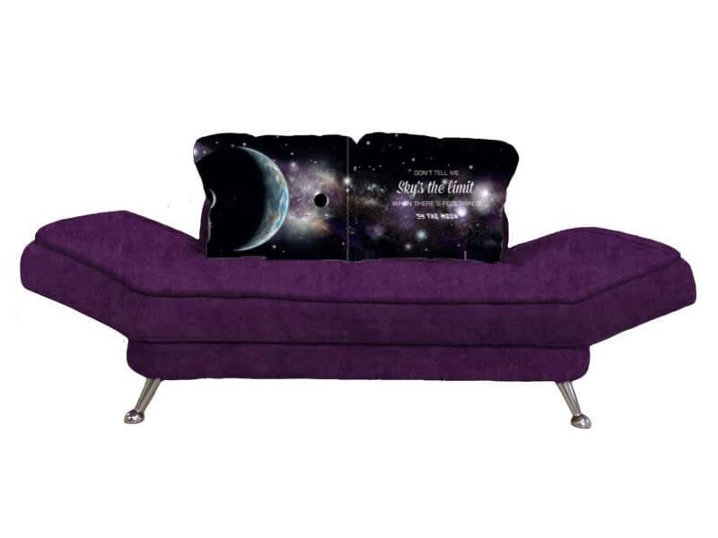 Диван Прага Energy Violet-Galactic