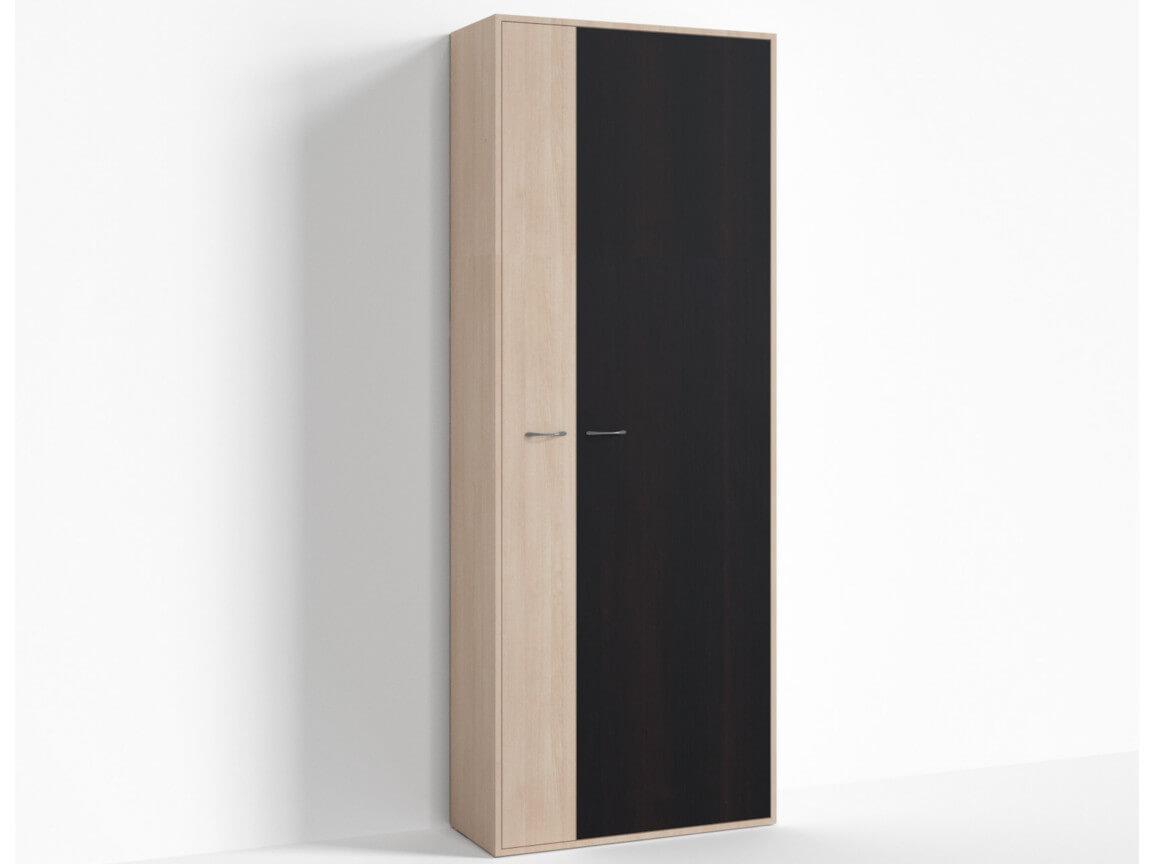 Шкаф широкий правый ПР-ШС-1-3 800х334х2100 Дуб Миланский - Дуб девонширский