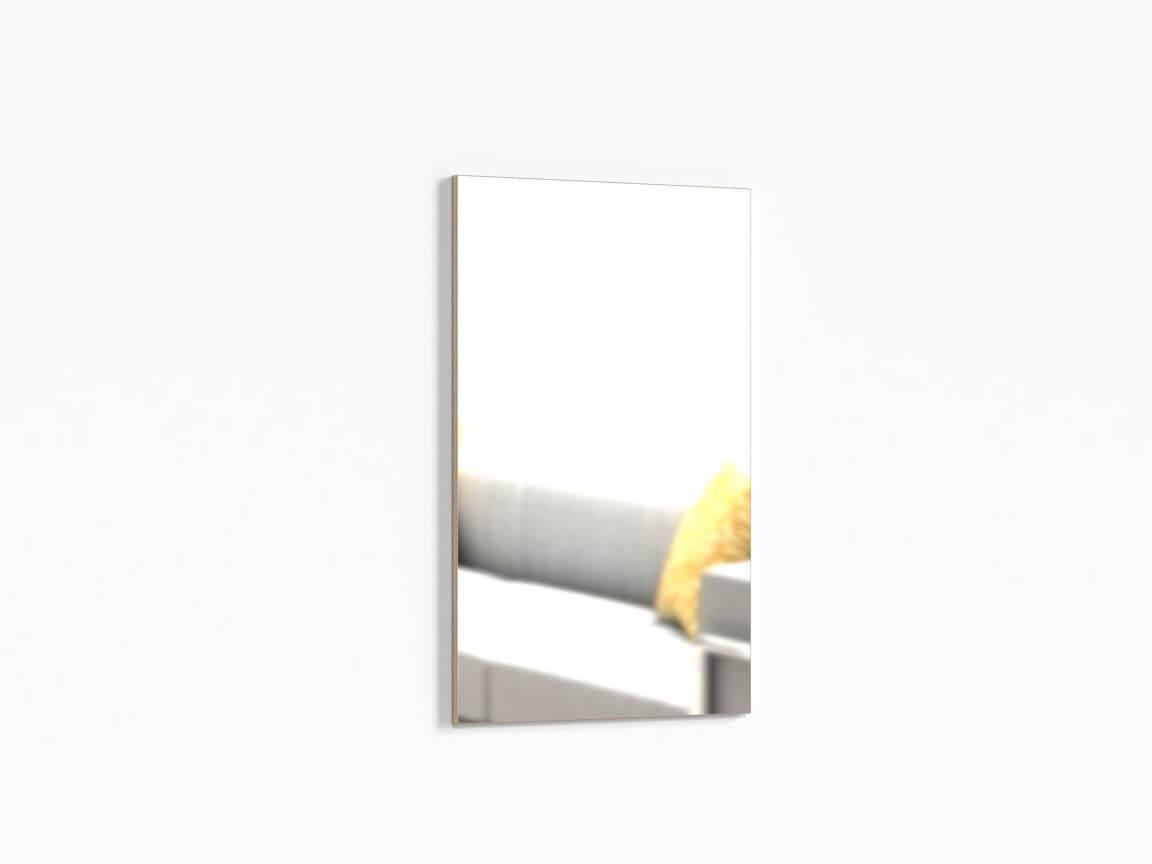 Зеркало настенное ПР-ШН-1-1 600х20х1000 Ясень шимо светлый