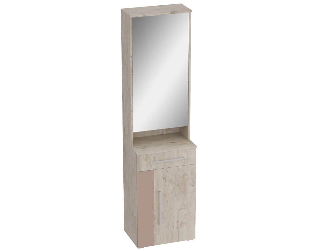 Тумба с зеркалом 550 Фан 550х400х2100