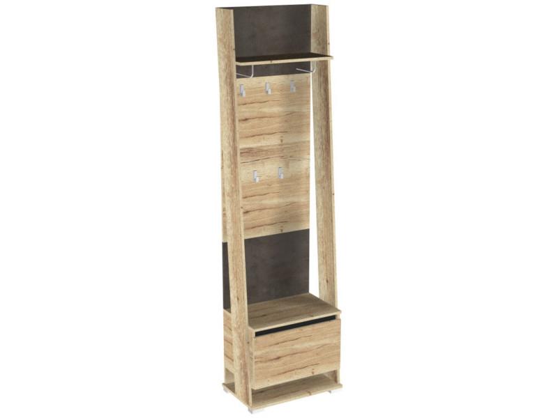 Шкаф открытый с вешалкой ПС-2 600х375х2200