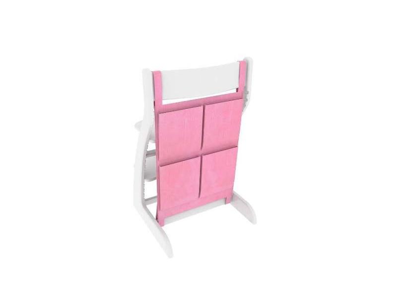 Накладные карманы розовый