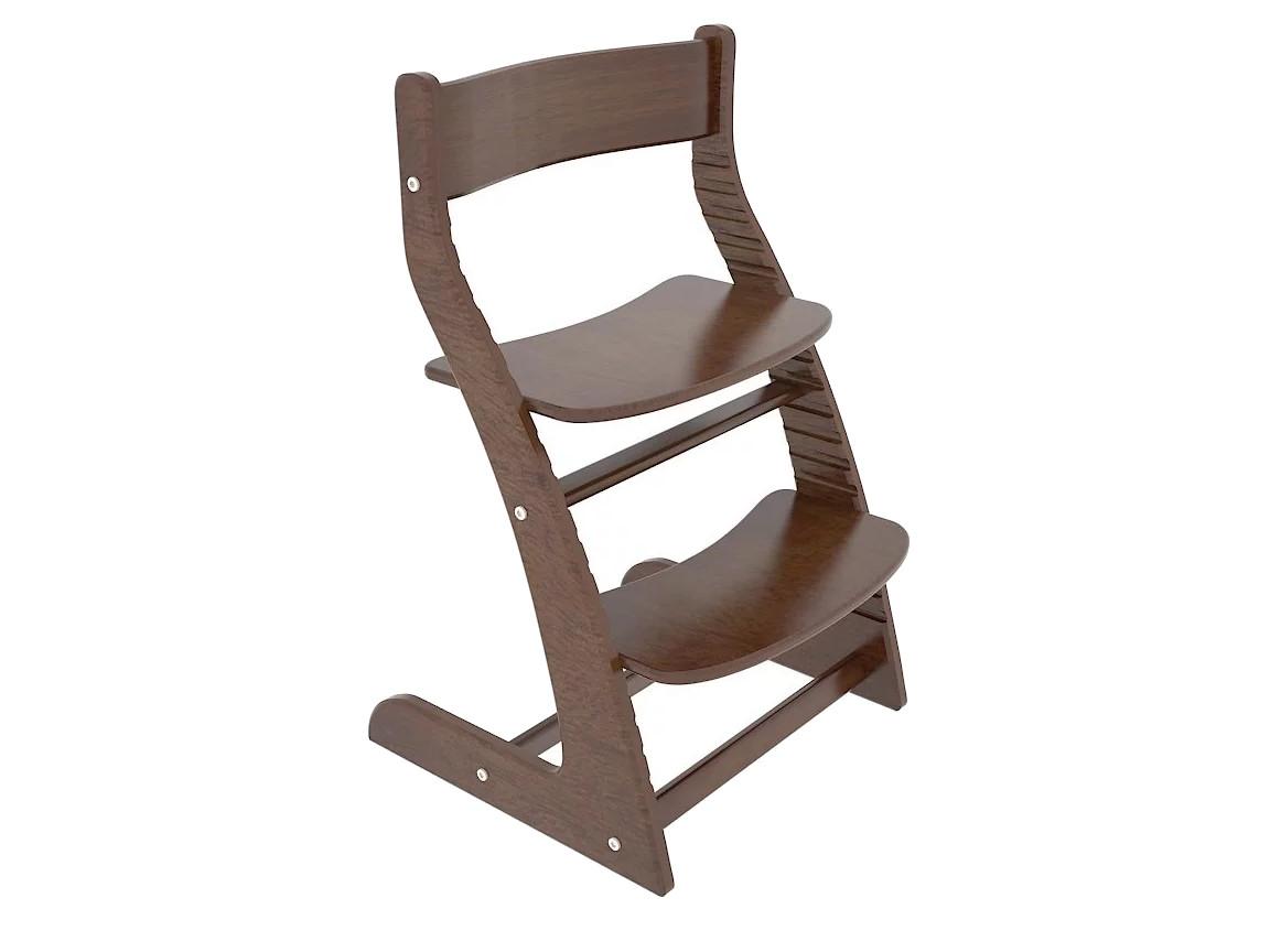 Растущий стул коричневый