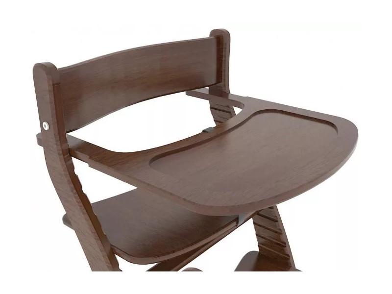 Столик для кормления коричневый