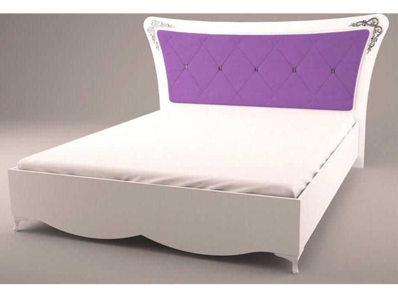 Кровать с мягкой спинкой 2010х2060х1180 мм