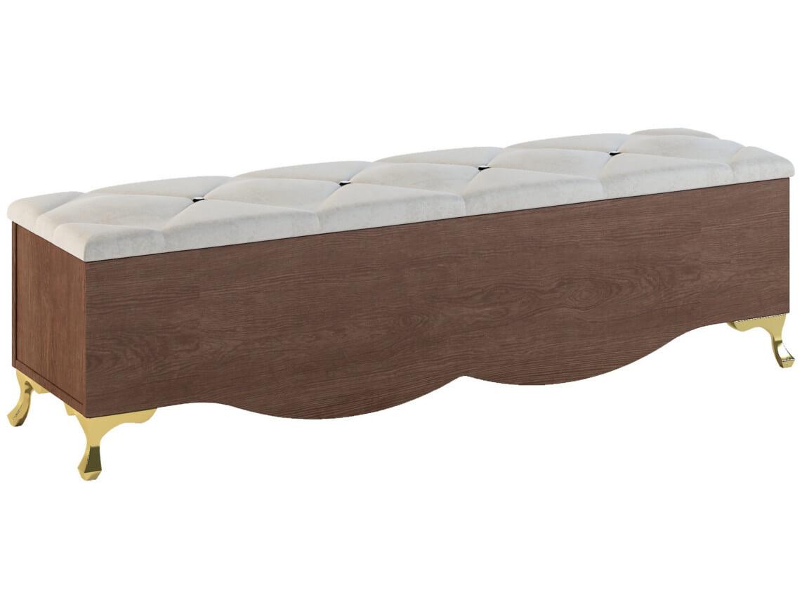 Скамья прикроватная 1408х360х379 мм