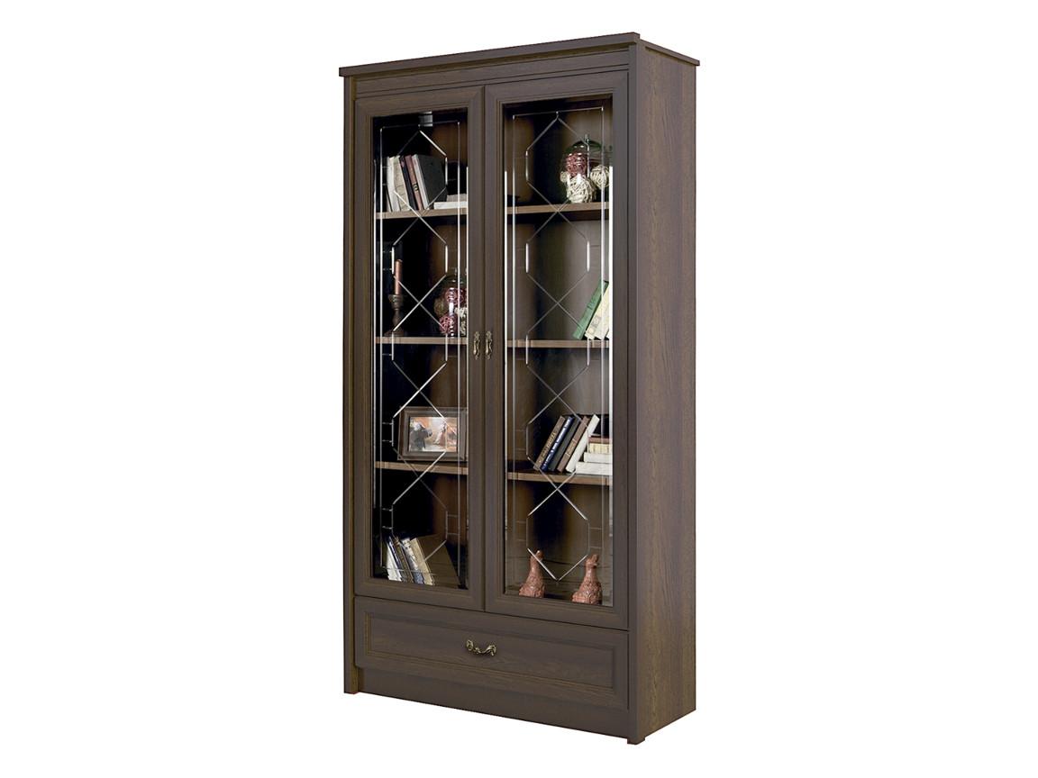 Шкаф для книг 667 дуб оксфорд 1140х2160х460