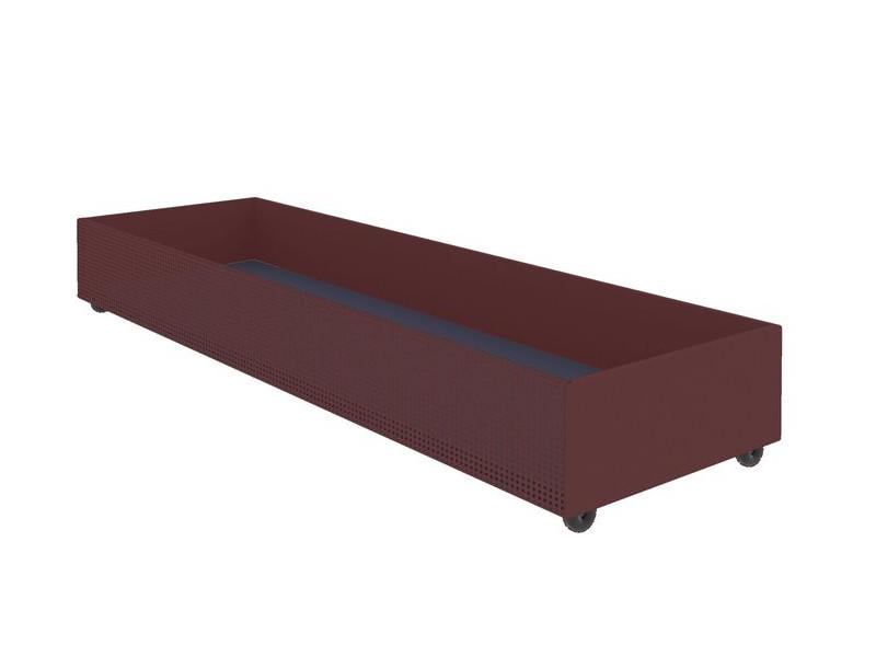 Ящик для белья выкатной красный 1800х540х210 мм