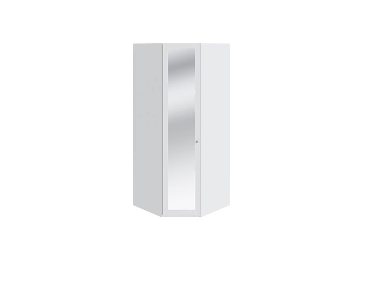 Шкаф угловой с 1-ой дверью с зеркалом Ривьера СМ 241-23-003 764х764х2111