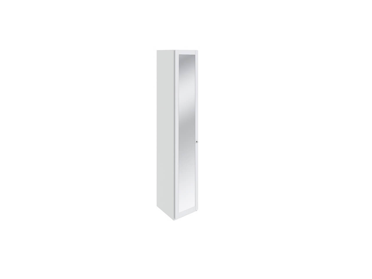 Шкаф торцевой с 1-ой дверью с зеркалом Ривьера СМ 241-07-004 435х580х2111