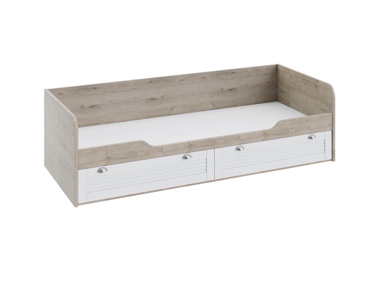 Кровать с 2-мя ящиками Ривьера ТД-241-12-01 2044х839х583
