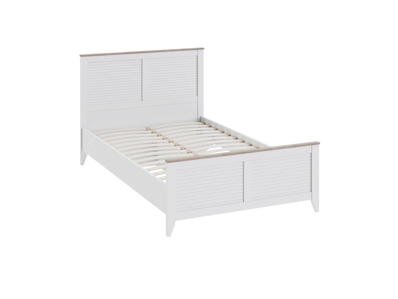 Односпальная кровать с изножьем Ривьера СМ 241-13-21 1282х2060х1026
