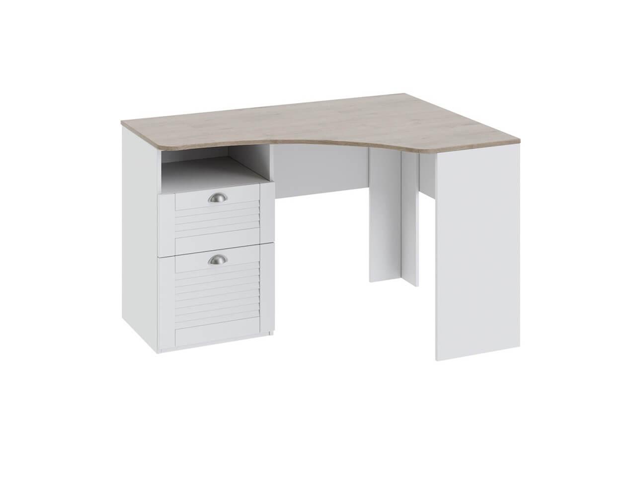 Угловой письменный стол с ящиками Ривьера ТД-241-15-03 1210х890х758