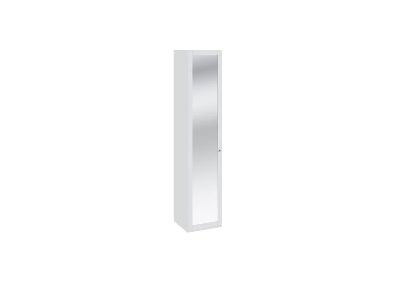 Шкаф для белья с зеркальной дверью Ривьера СМ 241-21-001 447х452х2111