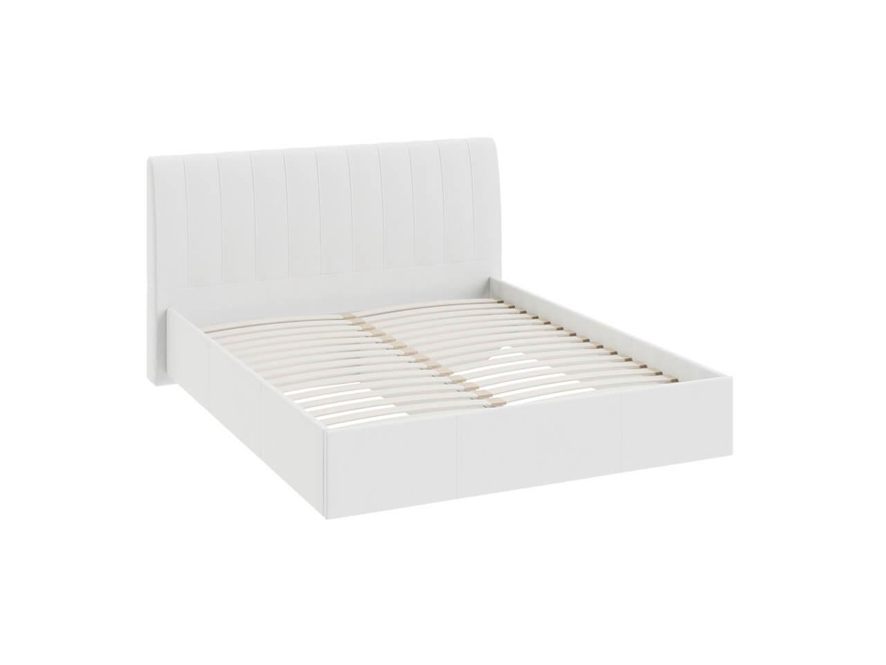 Двуспальная кровать с мягкой спинкой Ривьера-Адель СМ-300-01-13_1 1760х2190х1020