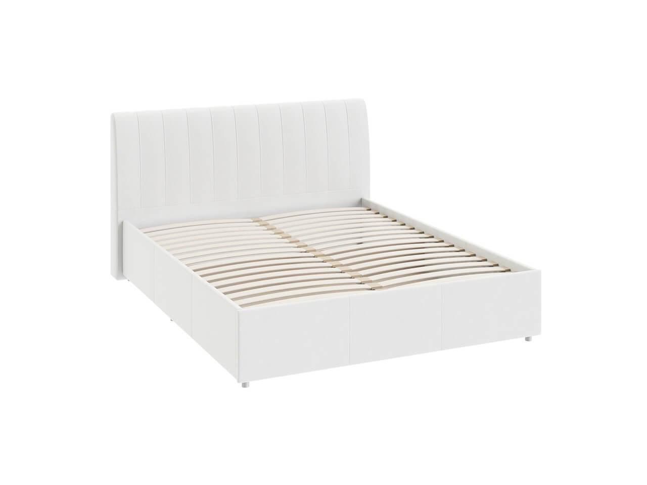 Двуспальная кровать с мягкой спинкой с ПМ Ривьера-Адель СМ-300-01-13-5 1760х2190х1020