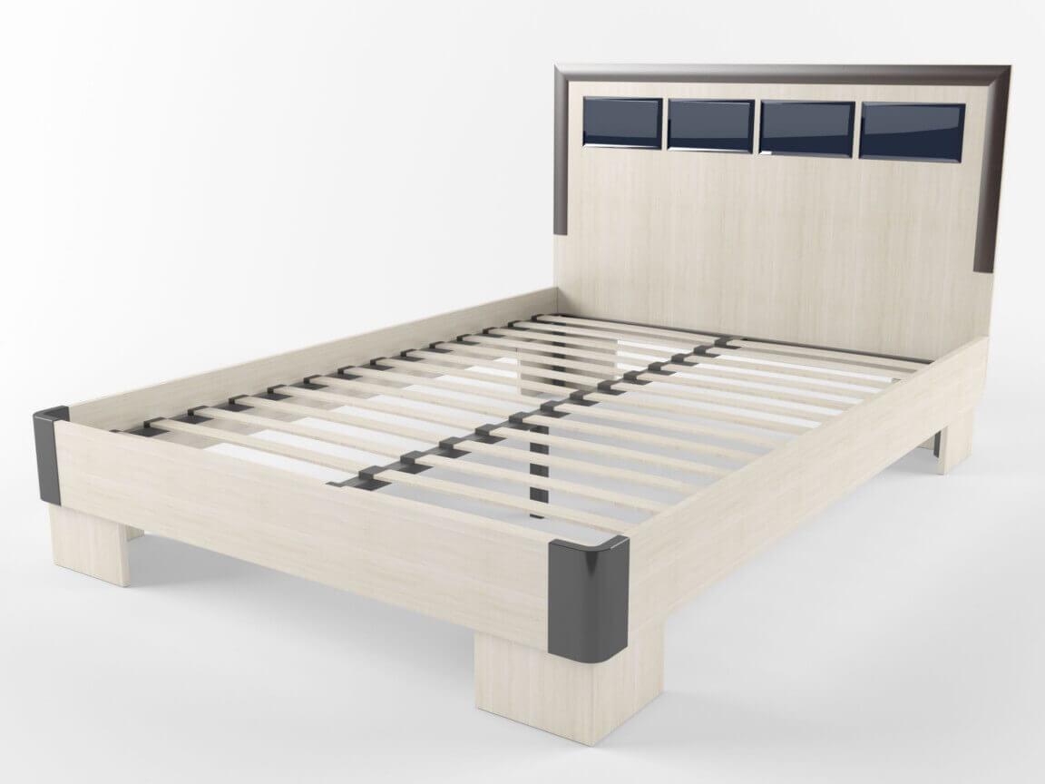Кровать с ортопедом 1600х2000 1035х1600х2040 мм